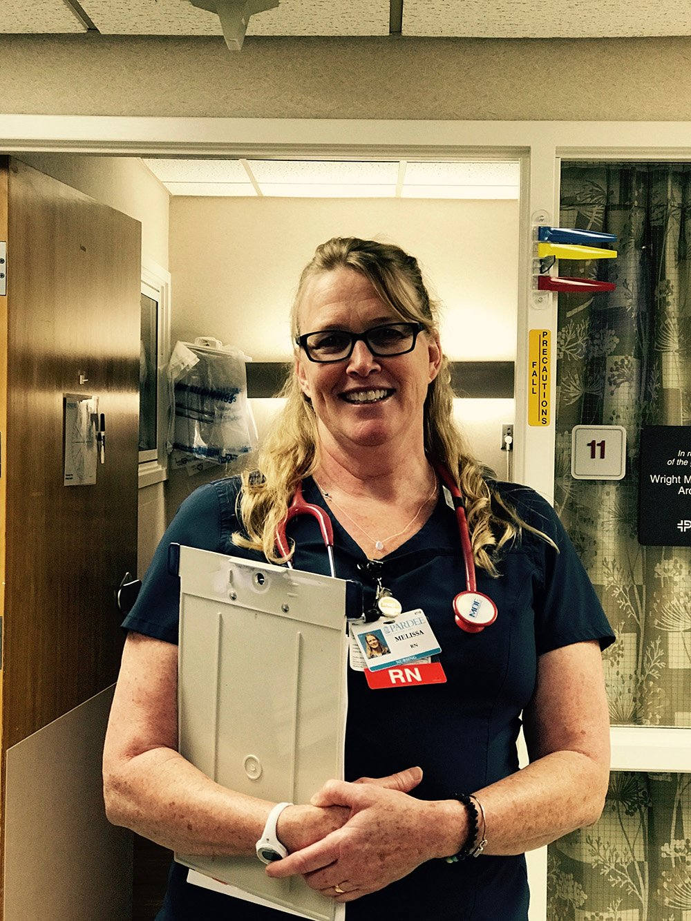 This is a photo of Melissa, a nurse at Pardee