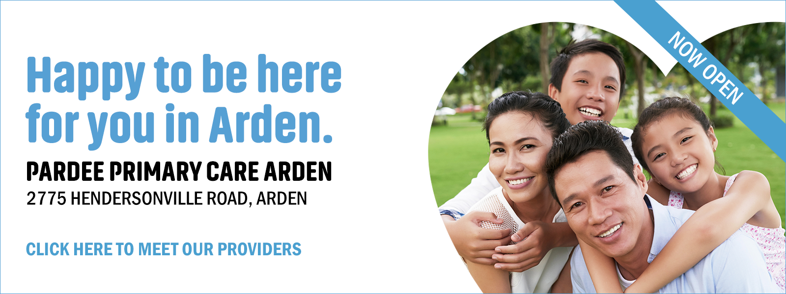 Happy to be here for you in Arden
